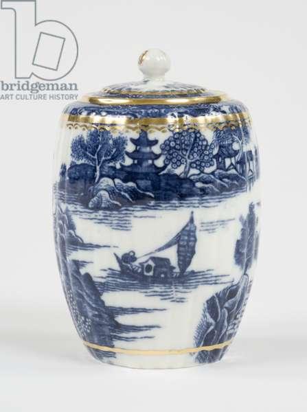 Tea canister, 1775-99 (porcelain)