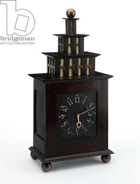 Clock, 1903-06 (ebony & ivory)