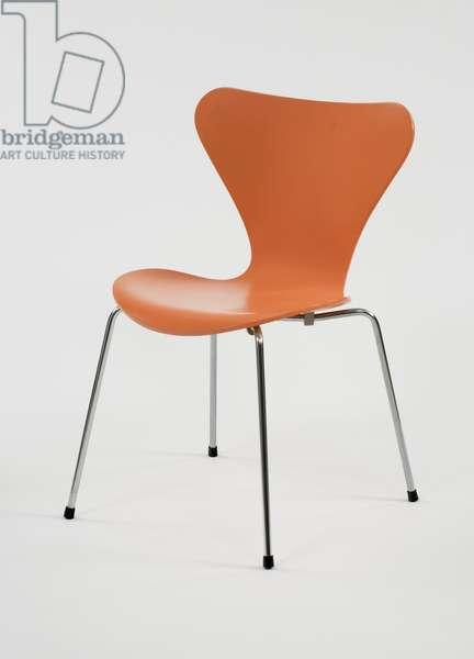 'Series 7' chair, 1991 (bent tubular steel and bent plywood)