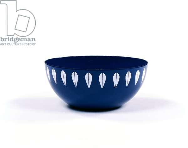 Bowl, 1956-61 (enamelled metal)