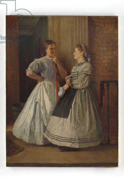 Maids of All Work, 1864-65 (oil on canvas)
