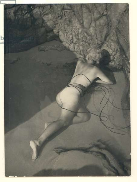 Self portrait, 1930 (b/w photo)