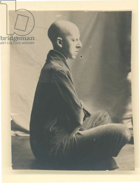 Self portrait, c.1920 (b/w photo)