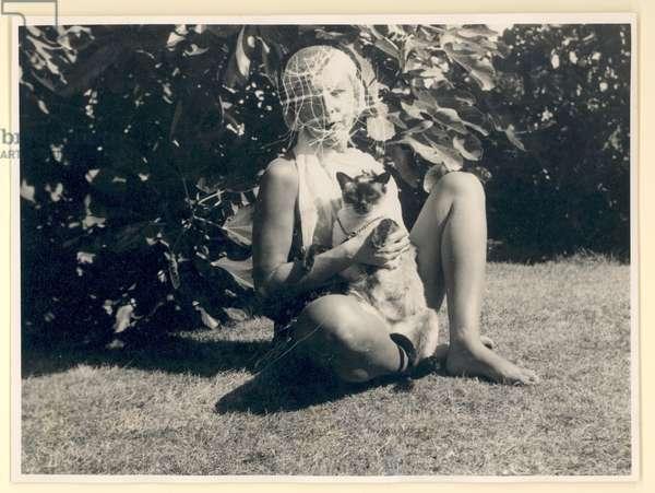 Self portrait, c.1938 (b/w photo)