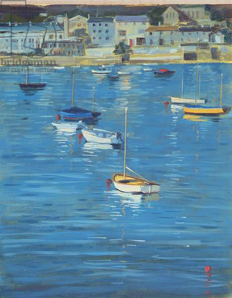 Salcombe, Sparkling Morning, 2002 (oil on board)