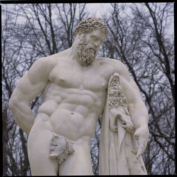 Statue of Hercules, 17th century (marble)