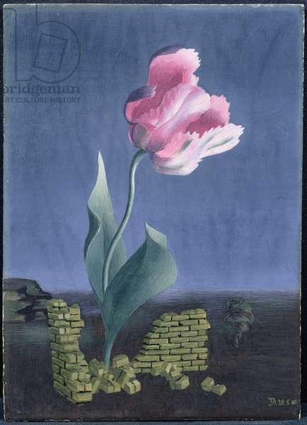 The Tulip, 1940 (tempera on panel)