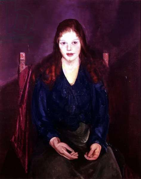 Portrait of Margaret Budd, 1914 (oil on canvas)