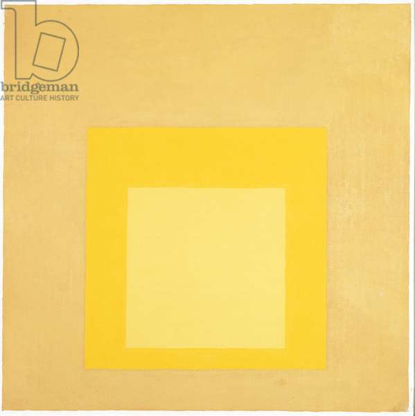 Yellow Climate (Homage to the Square) 1962 (oil on board)