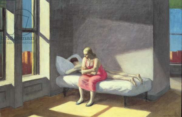 Summer in the City, 1950 (oil on canvas)