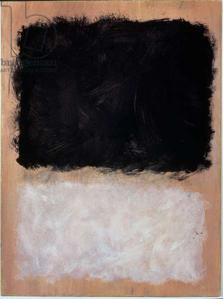 Untitled, 1966-67 (oil on paper on canvas)
