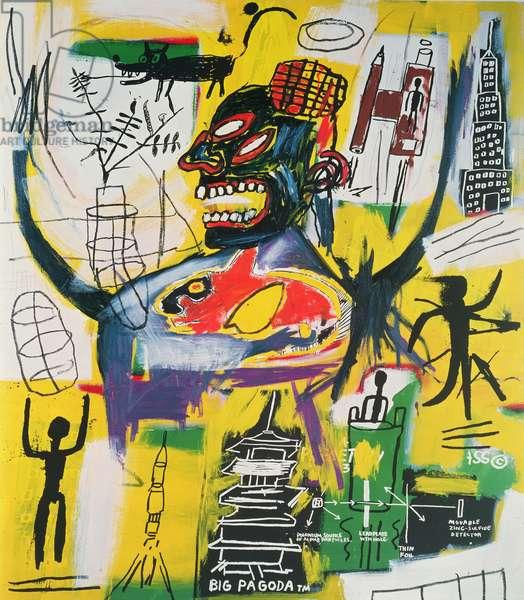 Pyro, 1984 (acrylic and mixed media on canvas)