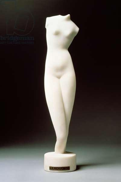 White Torso, 1916 (marble)
