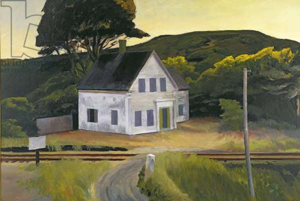 Dauphinee House, 1932 (oil on canvas)