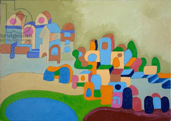Artists' Colony, 2010 (oil on canvas)