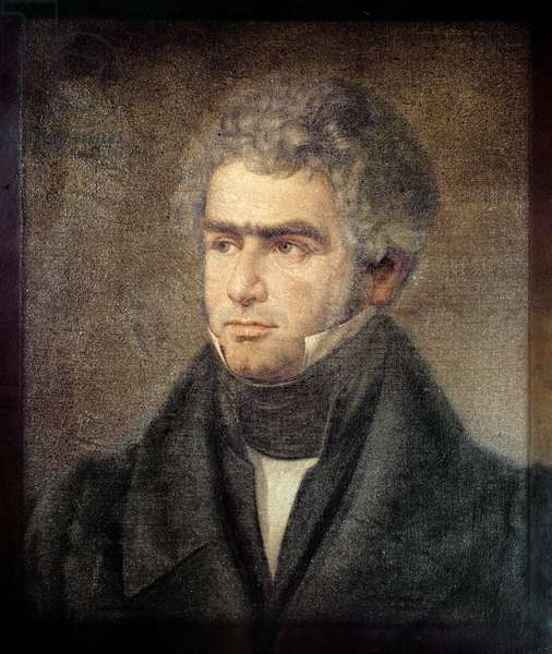 Portrait of Ferdinand Ries (1784-1838) (oil on canvas)