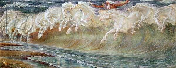 Neptune's Horses, 1892 (oil on canvas)
