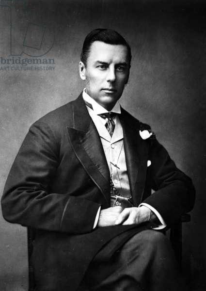Joseph Chamberlain, 1888 (b/w photo)