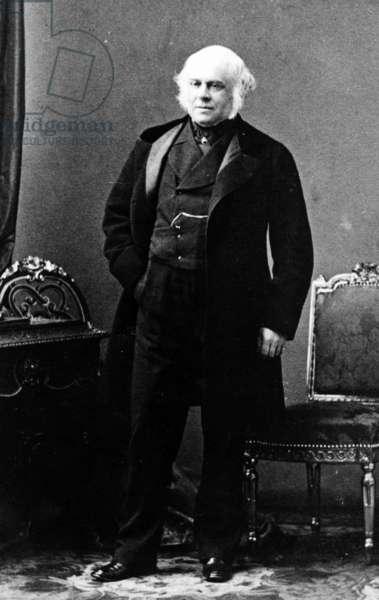 Lord Elgin, c.1860 (b/w photo)