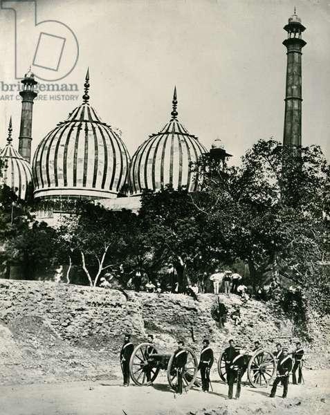 Zinat-ul-masjid, Delhi, c.1858