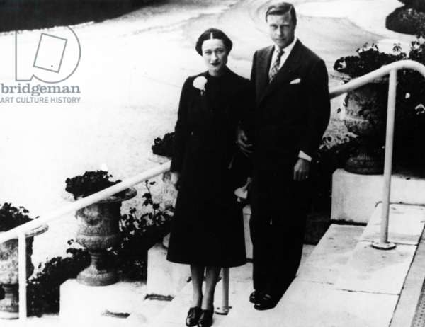 The Duke and Duchess of Windsor, c.1940s (b/w photo)