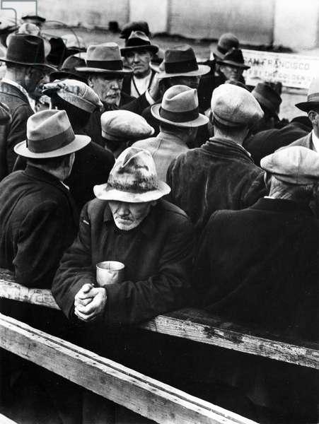White Angel Breadline, San Francisco, 1934 (b/w photo)