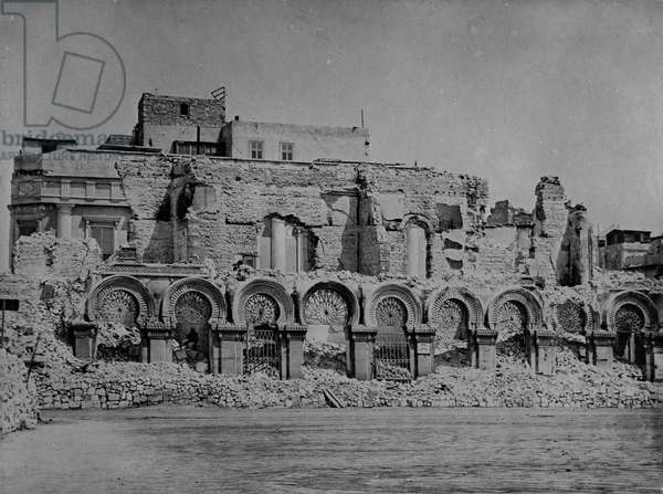 Palace Zizinia, 1882 (b/w photo)