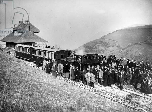 Lynton-Barnstaple Railway, c.1898 (b/w photo)
