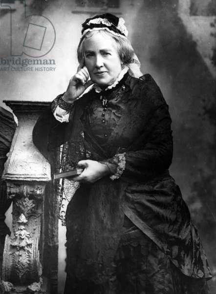 Mrs Gladstone, 1888 (b/w photo)