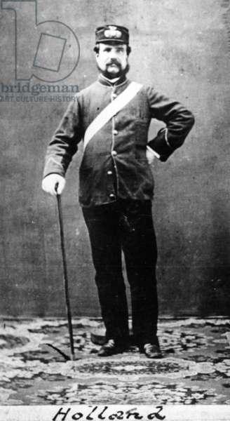 Captain Holland, c.1860 (b/w photo)
