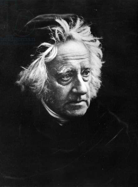 Sir John Frederick William Herschel, 1867 (albumen print)