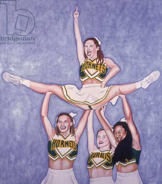 Let's go Hornets #1 Yeah!, 2002 (oil & acrylic on canvas)