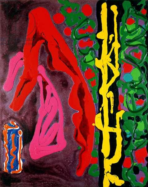 Lush Life 28.3.95 (acrylic on canvas)