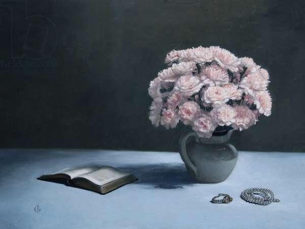 Carnations, 2010 (oil on linen over panel)