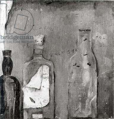 Bottles in a Recess, 1939 (b/w photo)