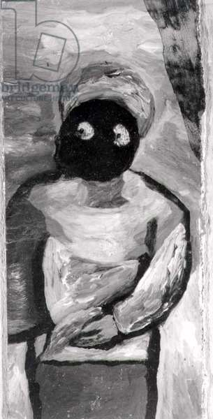 Waiting in the Wings, 1941 (oil on cardboard) (b/w photo)
