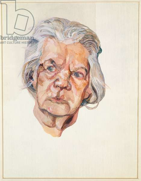 The Painter's Mother, 1975 (w/c)