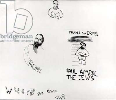 Paul Among the Jews, 1943 (pen on paper)