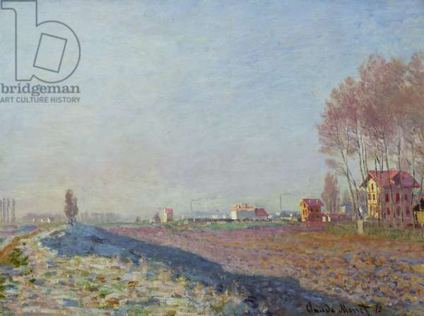 The Plain of Colombes, White Frost, 1873