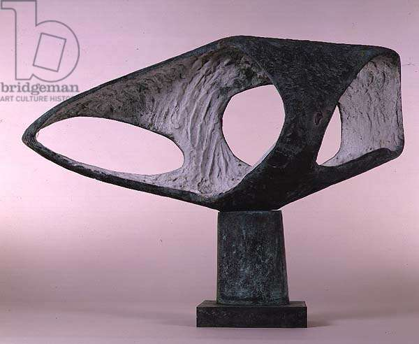 Bronze Form (Patmos), 1962-63 by Barbara Hepworth (1903-75)