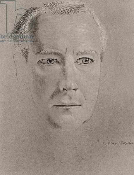 Cecil Beaton, 1948-50 (silverpoint) (b/w photo)
