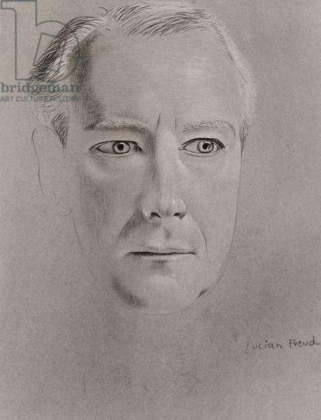 Cecil Beaton, 1948-50 (silverpoint) (b/w photo)
