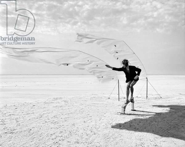Longing For Wind 7, 2015 (b/w photo)
