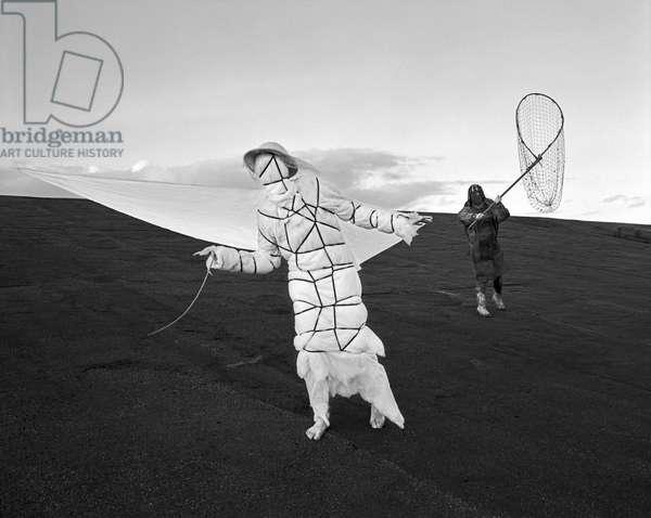 Longing For Wind 9, 2015 (b/w photo)