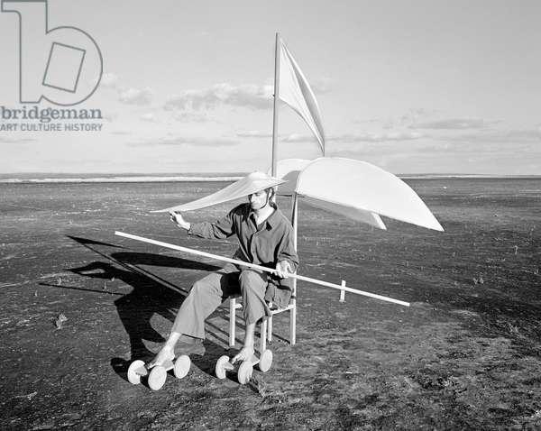 Longing For Wind 2, 2015 (b/w photo)
