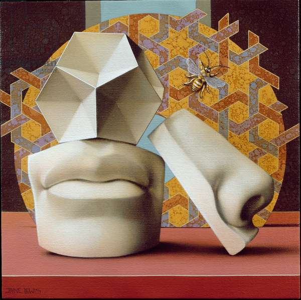 The Inner Chamber, 2003 (oil on canvas)