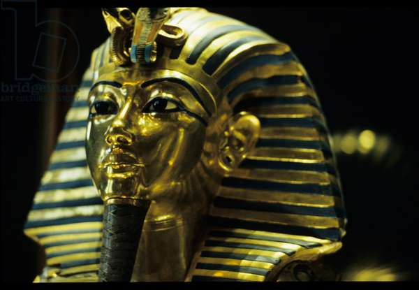 Gold mask of Tutankhamun, Egypt