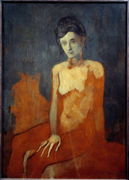 Seated Nude, 1905 (oil on canvas)
