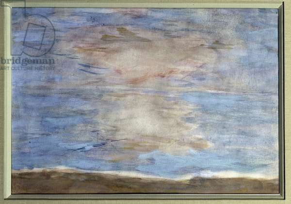 Sky and Sea Painting by Pierre Bonnard (1867-1947) 20th century Private collection