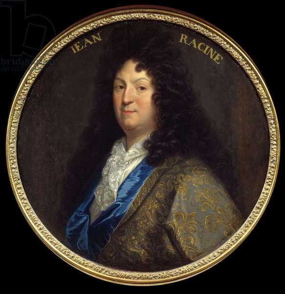 Portrait of Jean Racine (1639-1699), French tragic poet